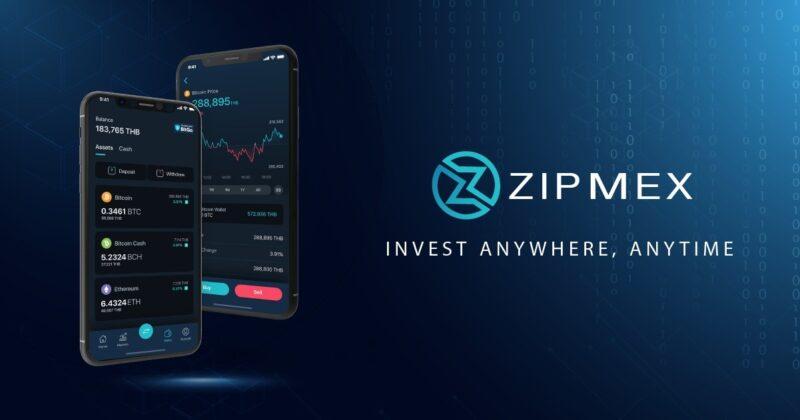 วิธีสมัคร Zipmex